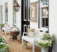 Front door Easter decorations | Decor Ideas | Pinterest