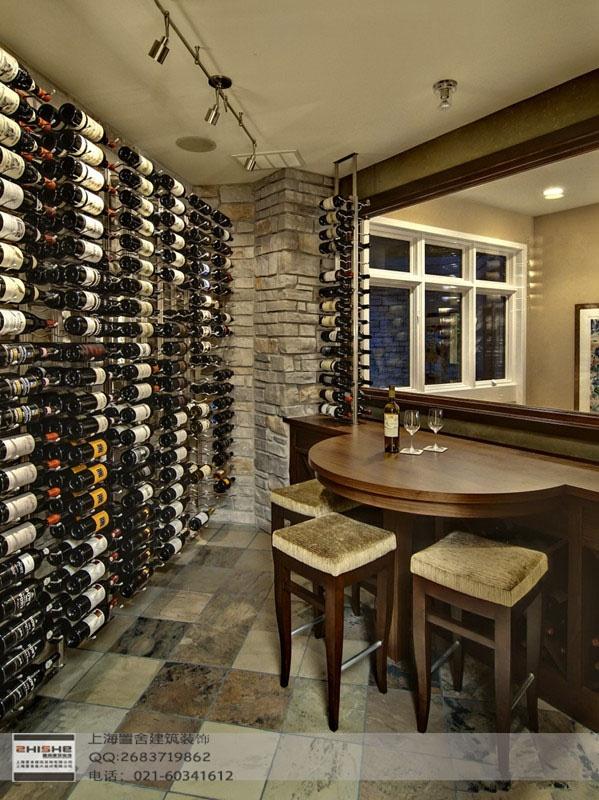 Inhome basement bar and wine cellar  Someday  Pinterest