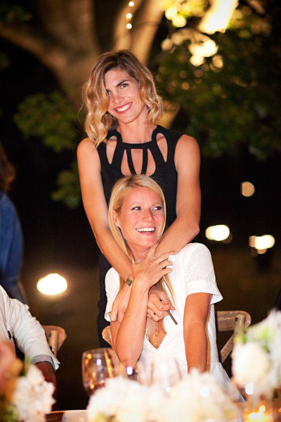 Delfina Blaquier and Gwyneth Paltrow