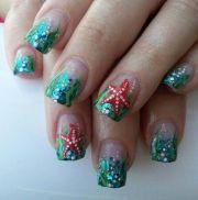 ocean nail design nails janayna