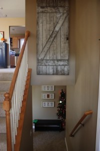 thrifted barn door as wall art | dream home - interior ...