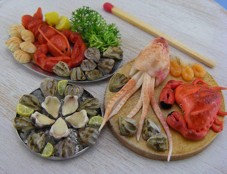 Shay Aaron Food Miniatures