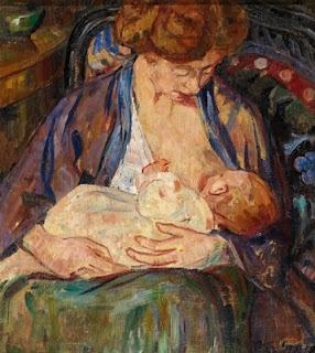5 gauguin on breastfeeding