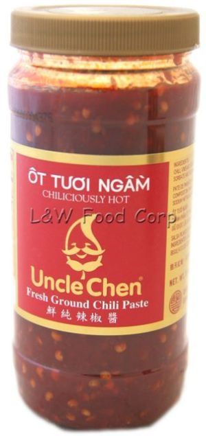 Uncle Chen's chile paste