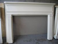 simple fireplace mantel