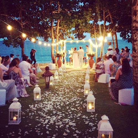 Great idea for a summer wedding