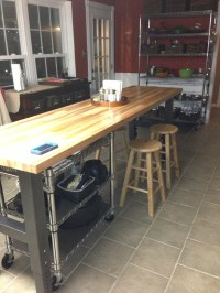 Gladiator workbench as kitchen island | design ideas ...