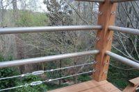 DIY tension cable railing 3 | outdoor dreams | Pinterest