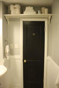 over the bathroom door shelf | Home Ideas | Pinterest