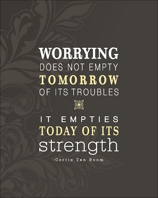 Worrying ...