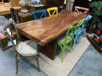 Dining Table: Dining Table Tree Slab
