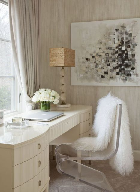 Little Bits of Lovely: Wednesday Workspace {understated glamour}