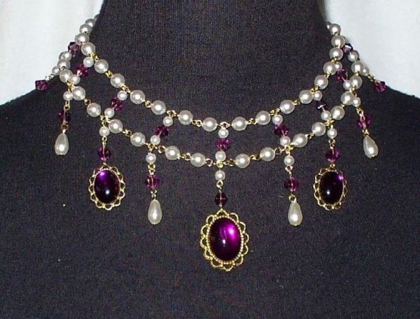 Sapphire and Sage Victorian Era Jewelry Vintage