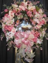 Spring Mother's Day Floral Door Wreath Butterfly Bird ...