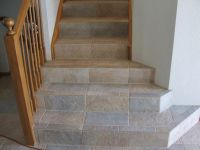 Tiled stairs | Stairs - Tile | Pinterest