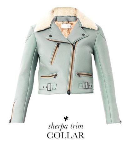 Chloe Scuba Nappa Leather Jacket