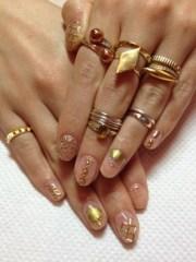 simply blinged nail art