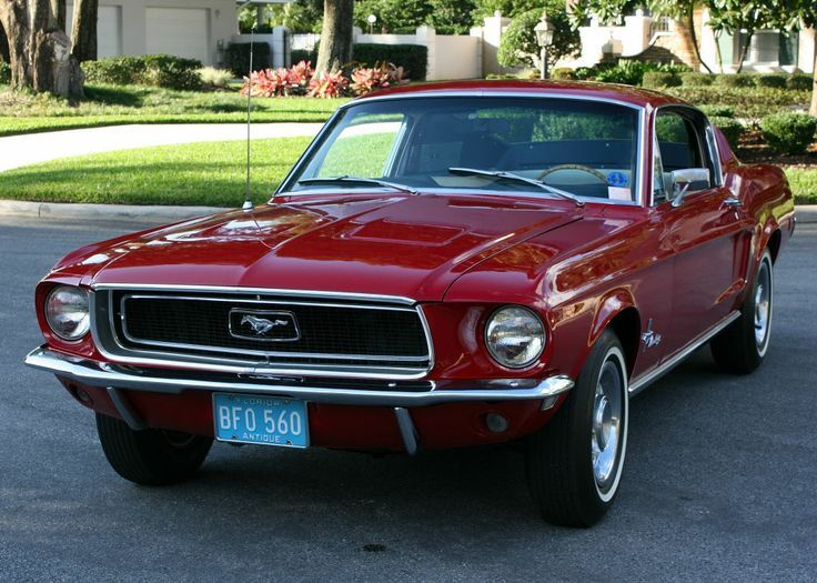 Coupe Mustang Conversion 1968 Fastback Kit