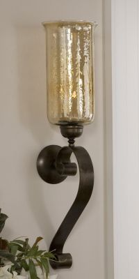 Joselyn . Candle Wall Sconce   Old World Decorating Ideas ...