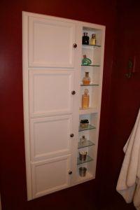 Recessed Bathroom Storage Cabinet : Excellent Black