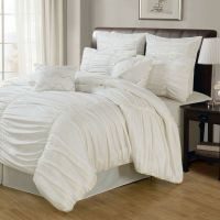 Venetian Ruched 8 Piece Comforter Set