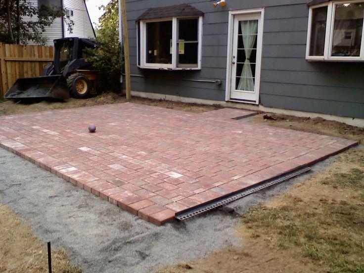 Easy Brick Patio