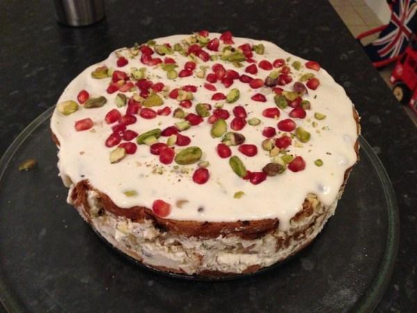 Italian Christmas cake pudding Holiday Deserts