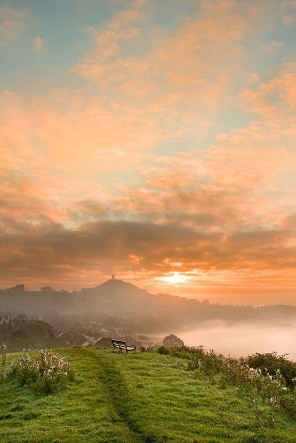 Glastonbury Tor, Somerset, England