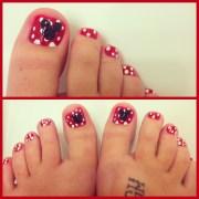 disney toe nail design joy studio