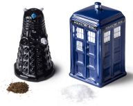 BBC Canada Shop - Doctor Who: Salt and Pepper Shakers