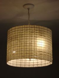 DIY lamp shade - chicken wire and ribbon | lighting ...