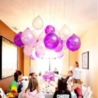 Non Helium Balloon Table Decorations Photograph   Helium Bal