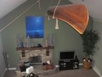 Hanging Canoe from ceiling | Andrew | Pinterest