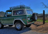 Green early bronco with roof rack | Bronco 1000+ pics ...