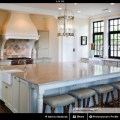 Large island with sink kitchen pinterest