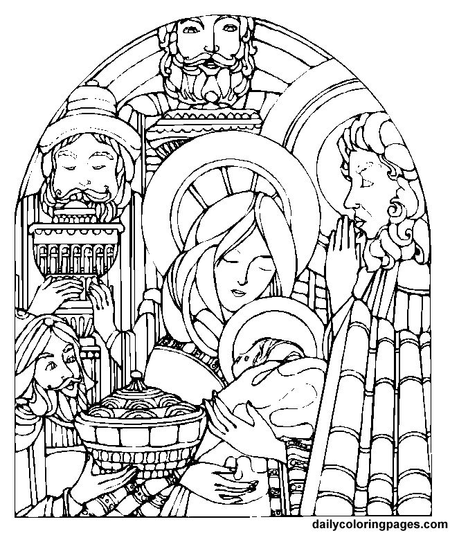 Colouring Pages Epiphany Feast Of The Coloring Page Pintere