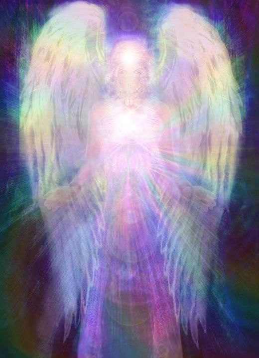 """Rainbow Angel.    Repinned by An Angel's Touch, LLC, d/b/a WCF Commercial Green Cleaning Co.  """"Denver's Cleaning Specialists"""" http://angelsgreencleaning.net"""