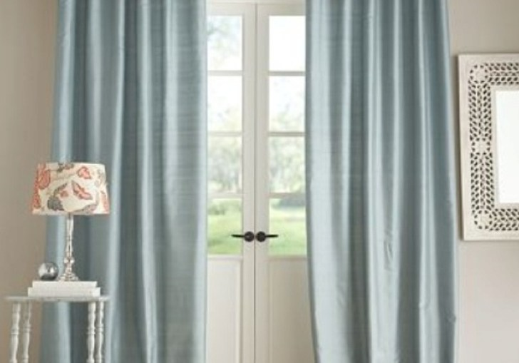 Pottery Barn Bedroom Curtains