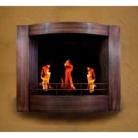 Wall mount gel fireplace , bedroom | Houz. | Pinterest