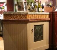 Wine Cork Backsplash Diy