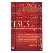 Names Of Jesus Christmas Cards Pinterest