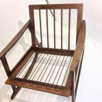 Vintage Mid-Century Rocking Chair, Lounge, MCM, rocker