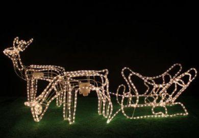 Amazon Co Uk Christmas Outdoor Reindeer