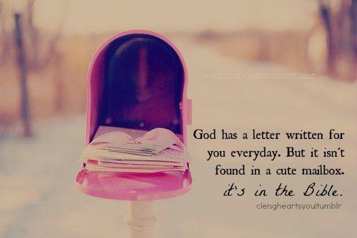 God's love letter...