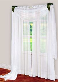 Window Scarf | Curtains, Drapes, Blinds and Shades | Pinterest