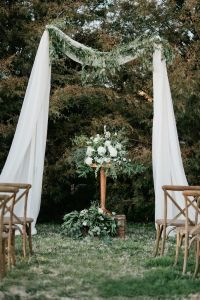 Rustic Outdoor Wedding Ceremony Venue