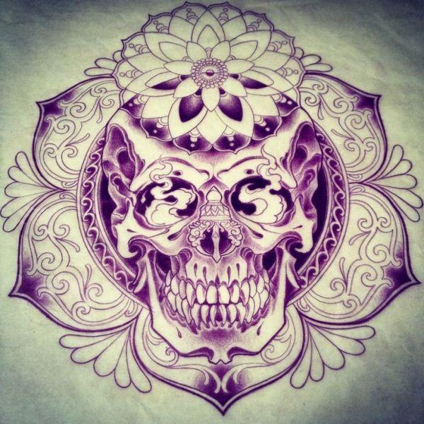 pretty and badass skull sugar