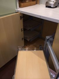 Blind corner cabinet solution | For the Home | Pinterest