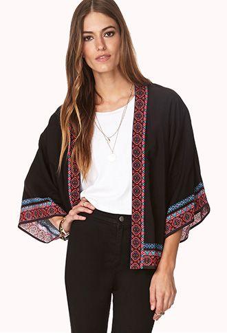 Free Spirit Open-Front Kimono | FOREVER21 - 2000126408