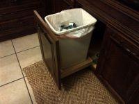 Under-sink trash pull-out | Kitchen design | Pinterest